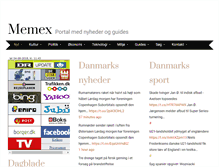 Tablet Preview of memex.dk